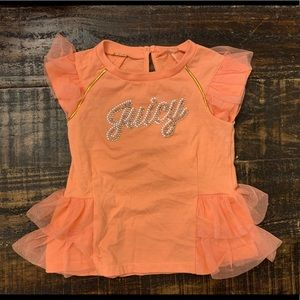 2/$20 24 Mo Juicy Couture Top